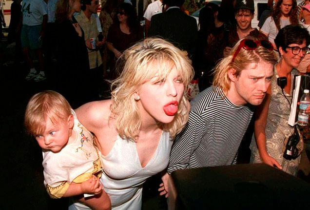 Hermosas fotos Frances Bean Cobain la hija de Kurt