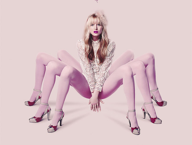 Campaña Socks Pink